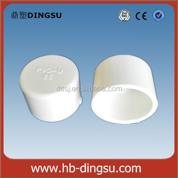 Plastic 6 Inch Pvc Pipe Fittings End Caps For Pvc Pipe Cover