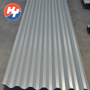 Cheap 0.7mm aluminum zinc coated corrugated metal steel roofing sheet price