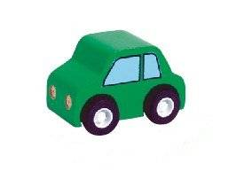 Mini Wood Toy Car Made from Durable Wood for Boys and Girls