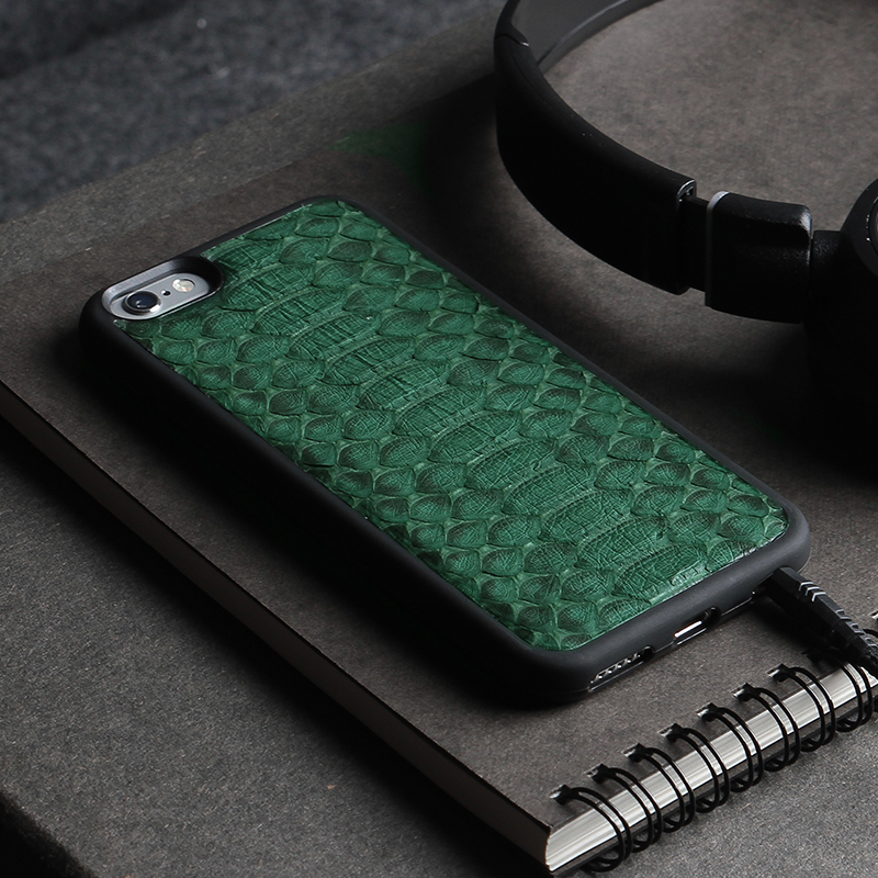 Exotic Leather Iphone Case