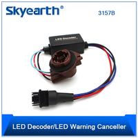 2Pcs 3157 LED Light Bulb Warning Decoder Load Resistor Socket Error Free