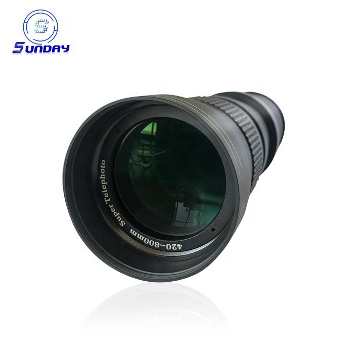 420-800mm f/8.3 Zoom Telephoto Lens Manual Focus For Digital Camera