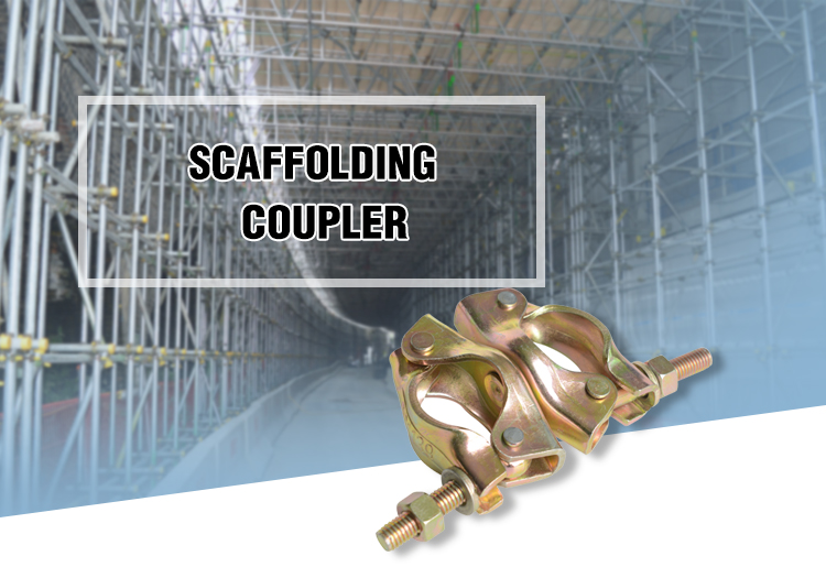 Factory Price Tube Scaffolding Drop Forged Double Clamps Coupler for Building