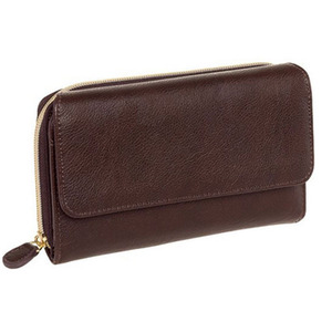 Wholesale new arrival RFIDl fashion brand women wallets for ladies