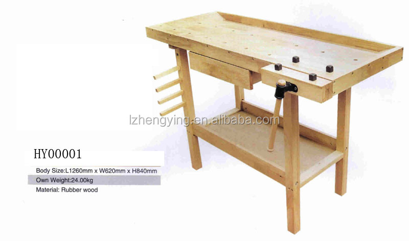 HY00001 Woodworker's Bench Woodworking Table For Carpenters