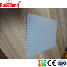 modern aluminum facade/aluminum corrugated/lattice/core composite panel