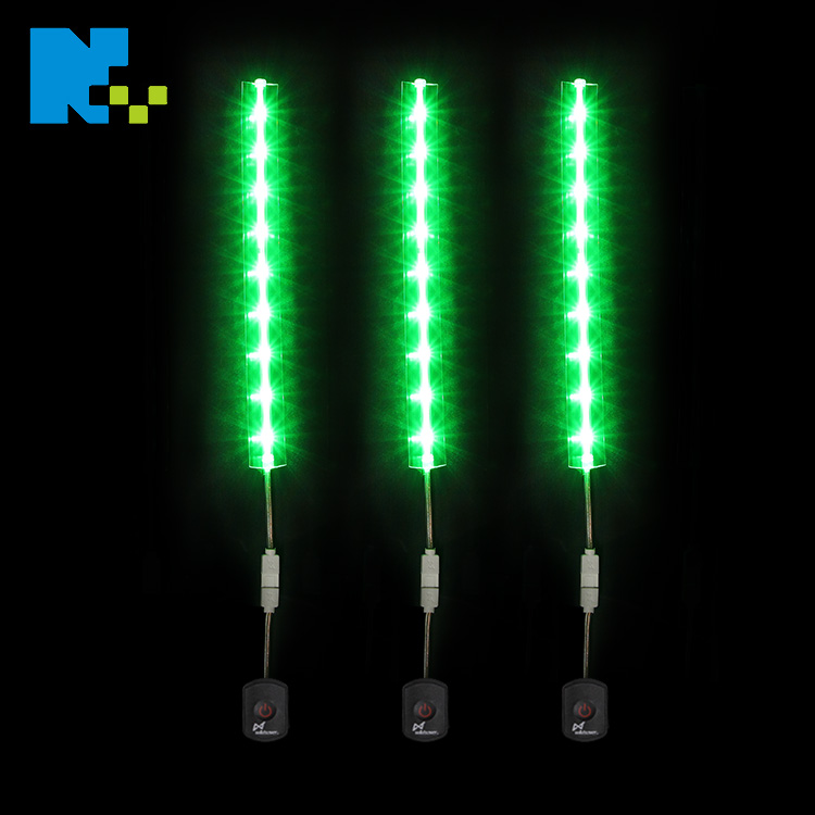 Heat Resistant Hard Waterproof Rechargeable Floor Grow 3-6V RGB Battery Powered LED Linear Strip Light Outdoor