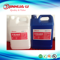 Two Components Clear Epoxy Resin AB Glue Factory