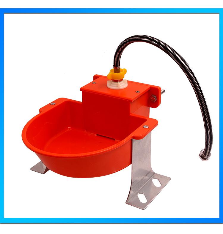 Air Minum Otomatis Mangkuk Plastik Hewan Drinker untuk Pakan Ternak & Penyiraman Perlengkapan