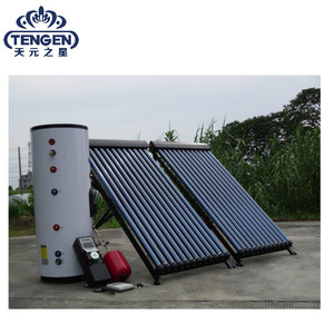 Guangzhou evacuated tube solar panel hot water heater heating system