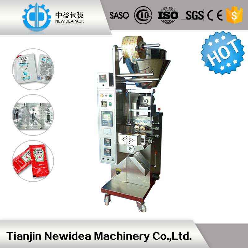 Tomato paste ketchup shea cocoa butter sachet packaging machine