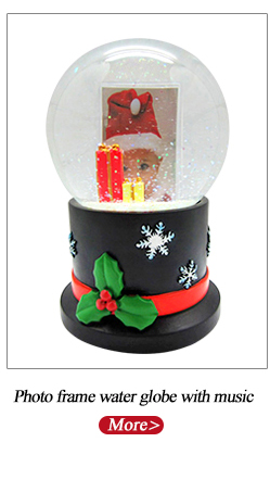 Pecyn Globe Snow Snow Souvenir Custom Resin Design