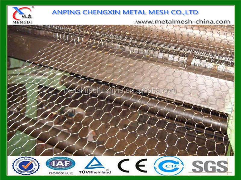 Galvanized Hexagonal Poultry Wire Netting / Chicken Wire Mesh / Hexagonal Mesh