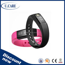 Waterproof calorie wristband step counter, pedometer bluetooth, barcode wristband