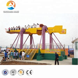 Cheap China product amusement park adult loved outdoor games rides flying carpet for sale