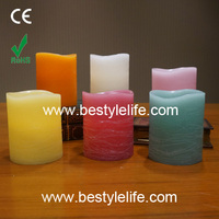 fashion shapes and various colors bright led candle lights
