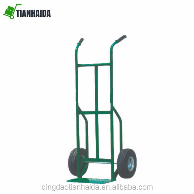 HT2066   Heavy duty hand trolley truck  , Strengthen frame heavy duty metal hand cart