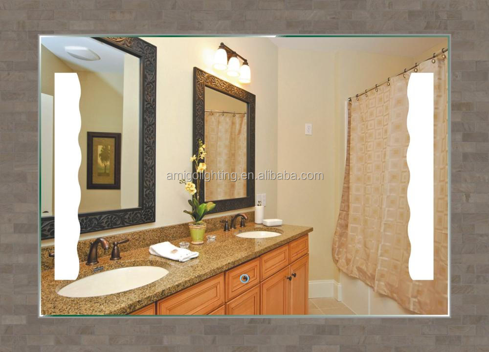 Rectangular Bathroom Vanity Mirror Led Light For Makeup 6005-90X60 Cold  White