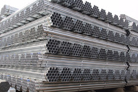 Round galvanized steel pipe EN10217