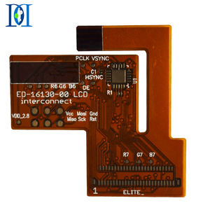 Smart Electronics LCD Single-layer FPC, Flexible PCB manufacturing