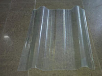 High impact strength light weight clear corrugated plastic roofing sheets plastic