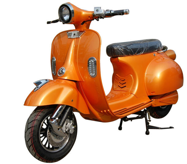1200W 72V classic Vespa electric scooter/vintage motorcycle/moped XGW-II-MILG