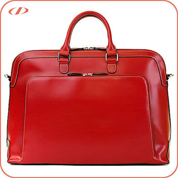 ec9fd99b9465 Stylish Real Leather Lawyer Briefcase For Women - Buy Leather Lawyer ...