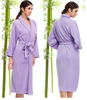 Factory Direct-Sale High Quality Waffle Pure Bamboo Robes for Couples