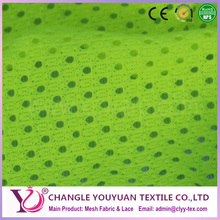 Polyester nylon school/team/factory/store uniform mesh fabric