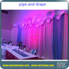 event party tent/pipe and drape/ceiling drapery