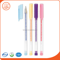 Lantu 2016 China Factory Best Promotional Stationery Glitter Gel Pens