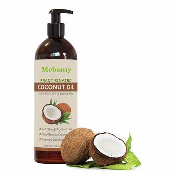 Philippine fractionated virgin crude coconut oil for hair and skin