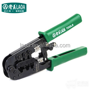 Multi-functional 4P 6P 8P China made ratchet network Crimping Pliers Stripper Cutter
