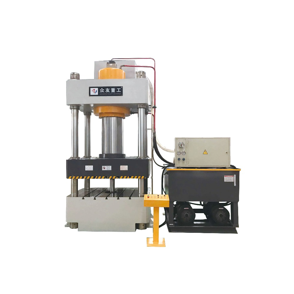 four pillars hydraulic press machine for ceiling tiles