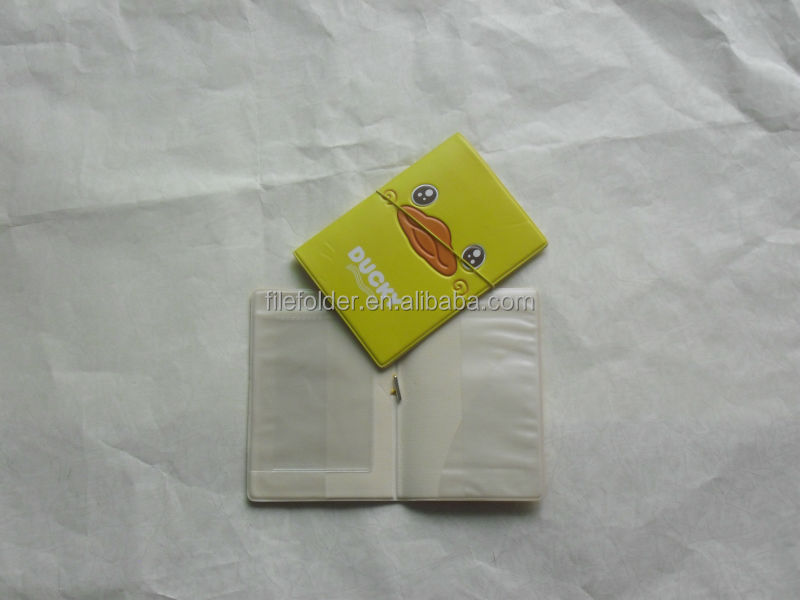 Plastic pasport holder, passport cover