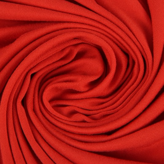 Jersey Knitted Fabric <strong>poly</strong> Spandex Plain Dyed Cotton Fabric