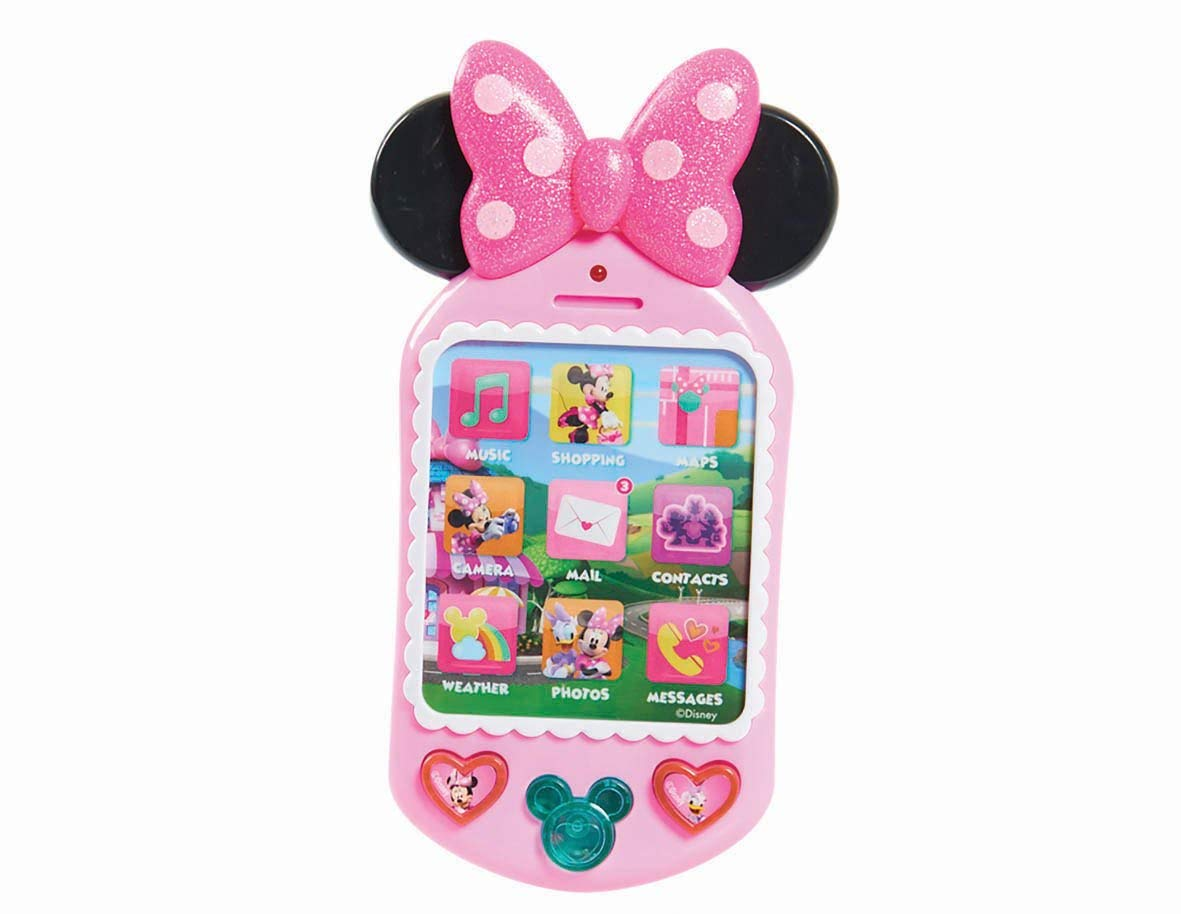 b94d27ebce9 Get Quotations · JP Mickey   Minnie Minnie Mouse Why Hello Cell Phone
