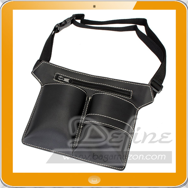 Pro Salon Tools Holder Case Leather Hair Scissor Bag for Haircutting