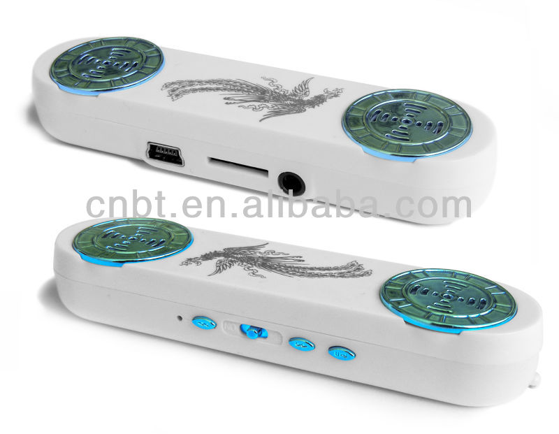new audio mp3 decoder car buit-in super speaker+usb Cable