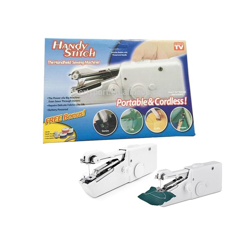 High quality best selling mini handheld sewing machine pocket sewing machine