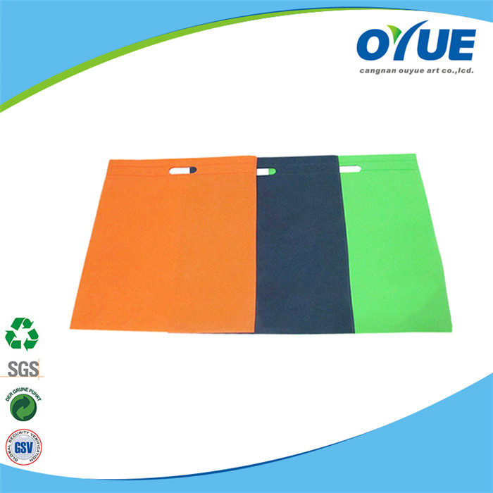China wholesale high quality die cut non woven shopping bag