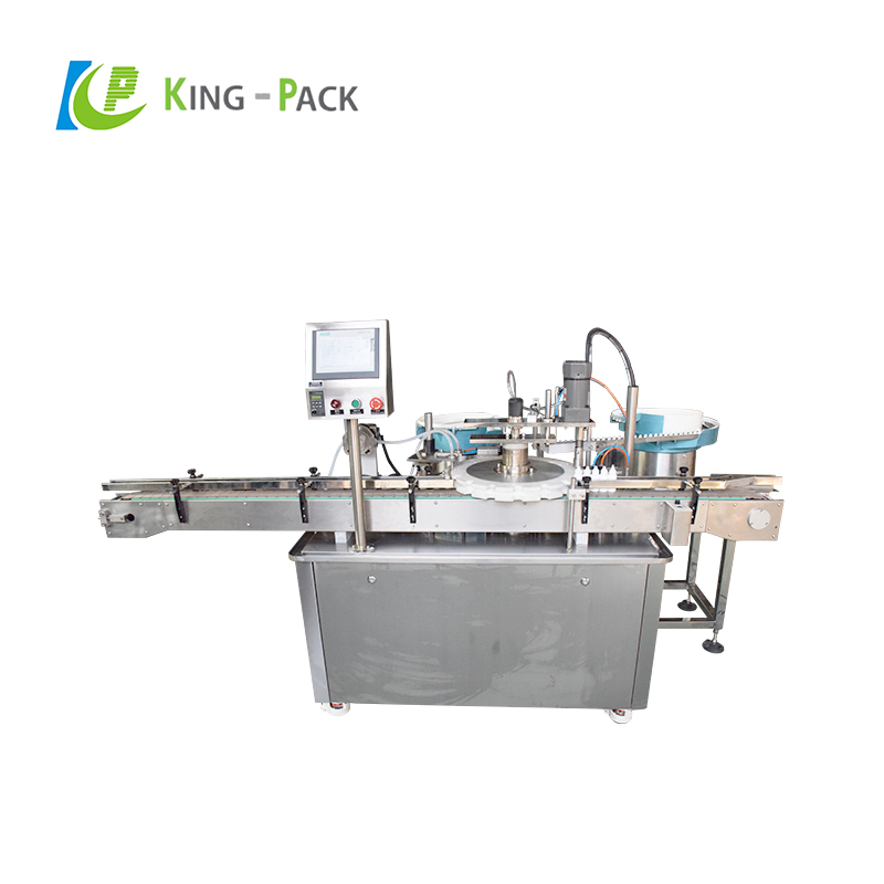Glass bottle dropper filling machine for rose essential oil, liquid filling equipment