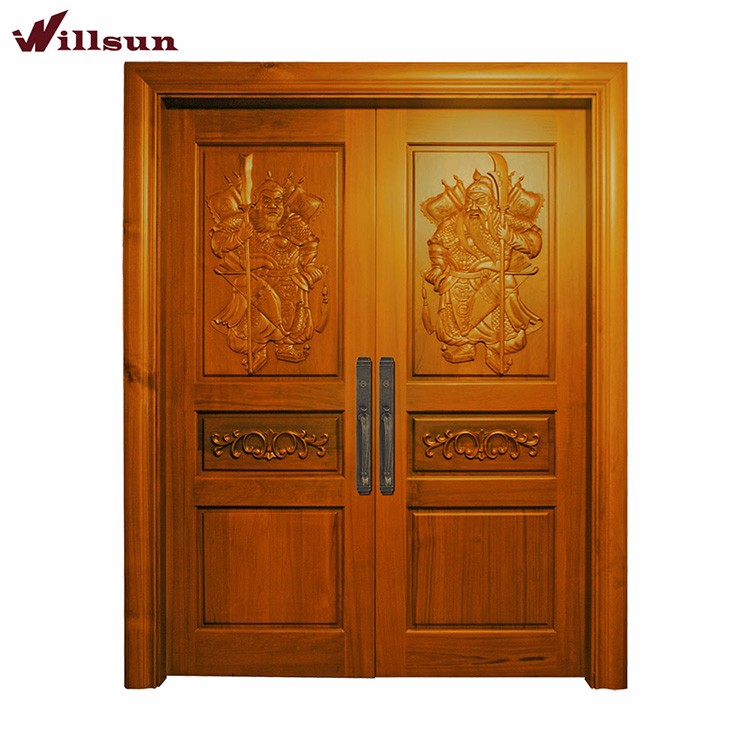 Golden Teak Wood Main Door Carving Designs Luxury Villa Front Entrance Gate Buy Main Door Designs Teak Wood Main Door Designs Teak Wood Main Door