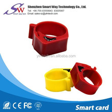 programmable and reusable animal rfid Pigeon foot ring ntag215