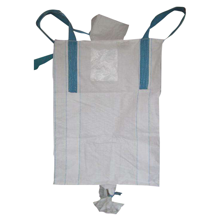 china wholesale Recycle flat bottom square plastic big fibc bag for chemical powder
