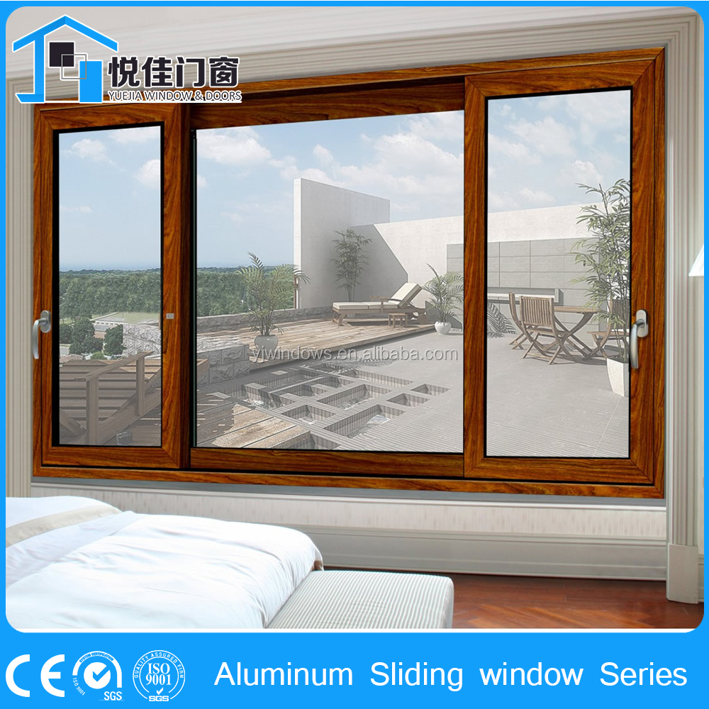 Classic pattern aluminium section for sliding window