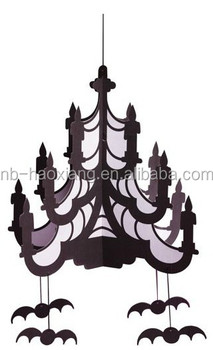 Halloween bat 3d paper chandelier for decoration buy halloween bat halloween bat 3d paper chandelier for decoration mozeypictures Image collections