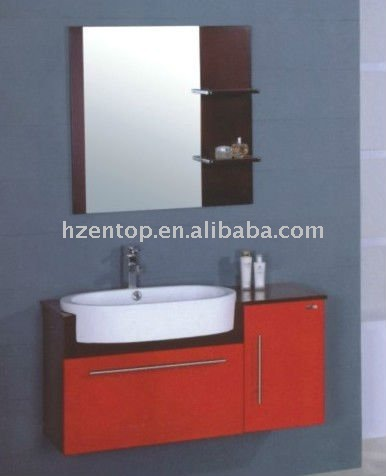 Red Bathroom Vanity, Red Bathroom Vanity Suppliers And Manufacturers At  Alibaba.com