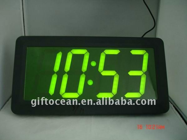 Vista Led Reloj Gigante Llev 243 Reloj De Pared Gran