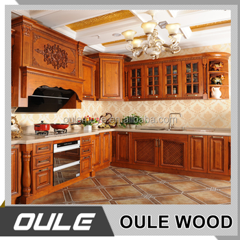 Wholesale modular kitchen cabinets solid wood furniture for Cheap solid wood kitchen cabinets